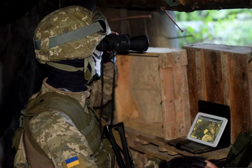 На Донеччині співробітники військової контррозвідки Об'єднаних сил затримали шпигуна терористів / фото facebook.com/pressjfo.news