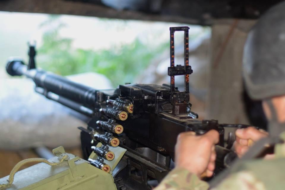 Боевики продолжают осуществлять регулярные обстрелы украинских позиций /фото facebook.com/pressjfo.news