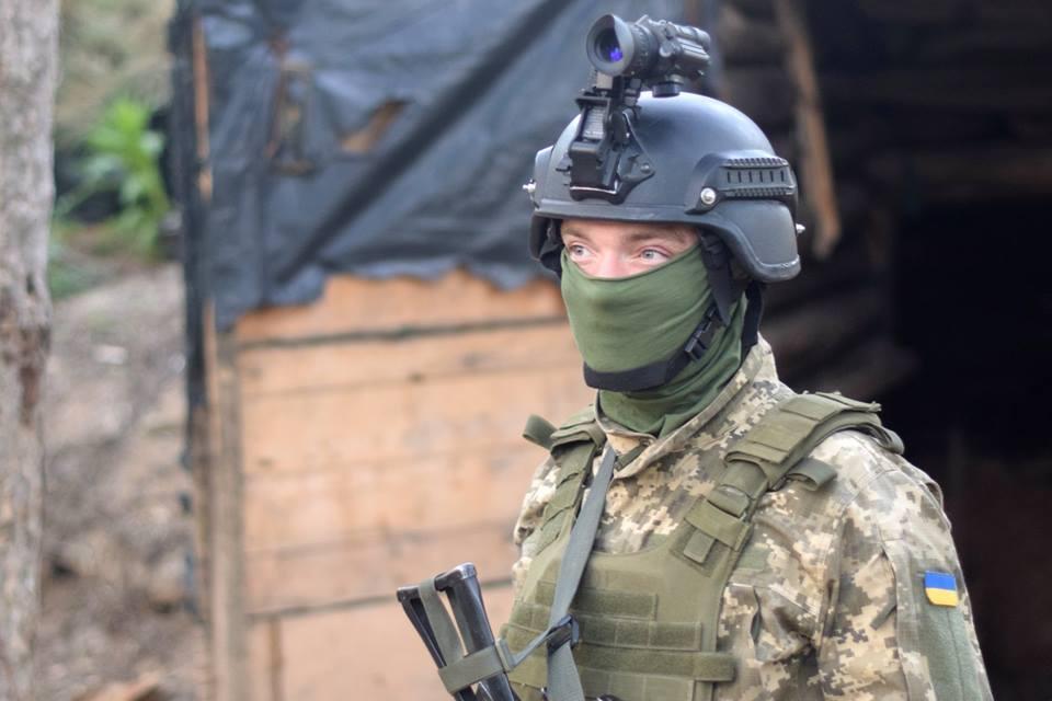 В течение дня на Горловском направлении было горячее всего / фото facebook.com/pressjfo.news