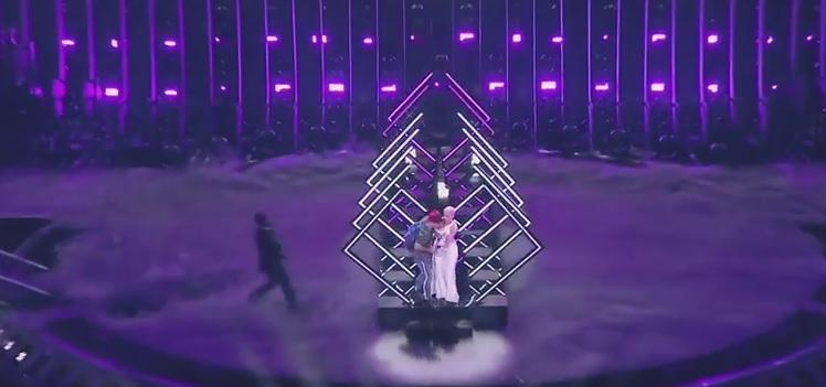 На Евровидении произошел инцидент / скриншот видео Eurovision Song Contest