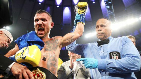 Бой с Линаресом указал на многие огрехи как в тактике украинского боксера, так и в его технике / Top Rank