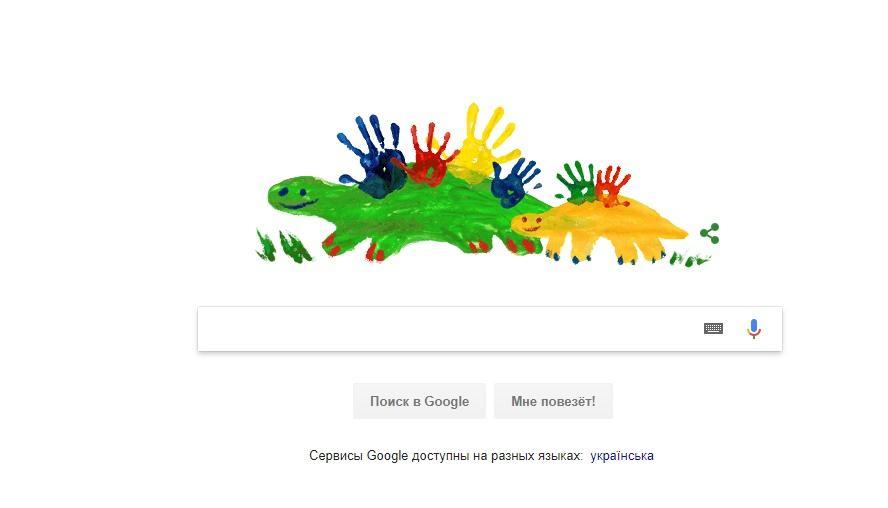Google посвятил дудл Дню матери