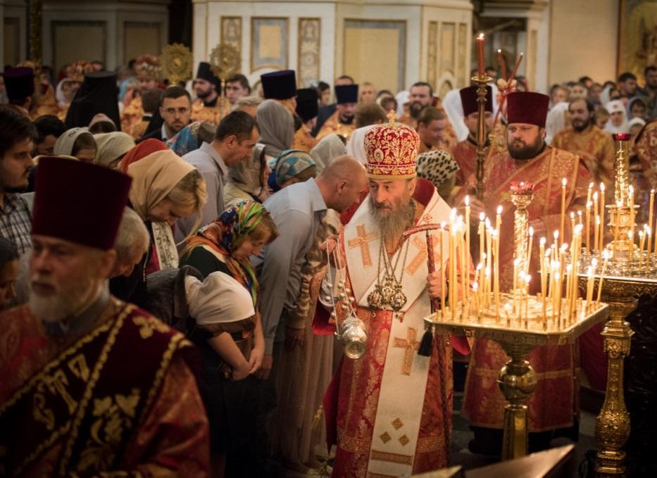 Предстоятель УПЦ возглавил литургию в Киево-Печерской лавре / news.church.ua