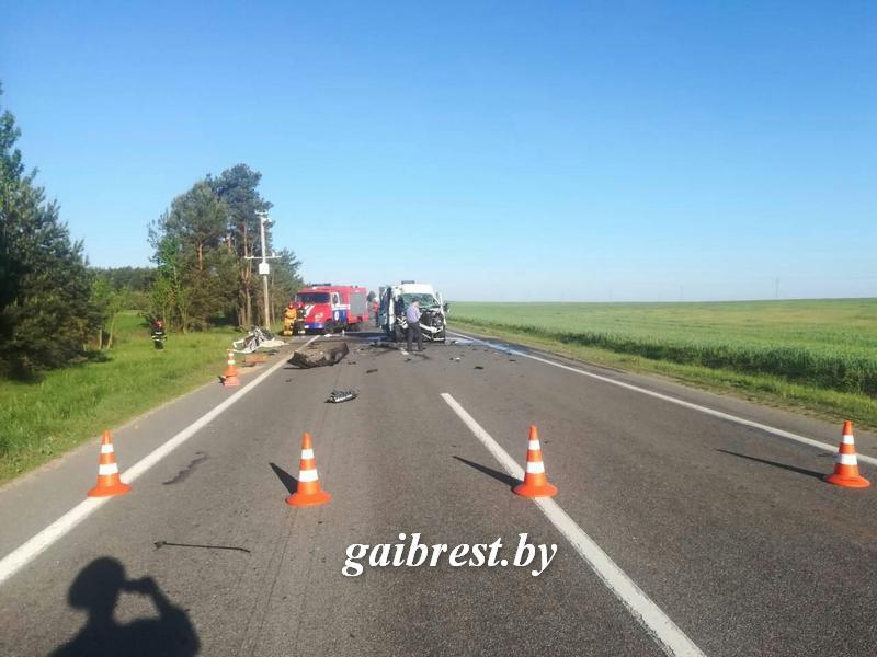The venue of the accident / Photo from Brest region's traffic police