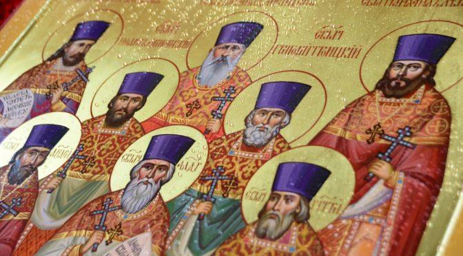 Образы четверых из новомучеников написаны по архивным снимкам / mitropoliakuban.ru