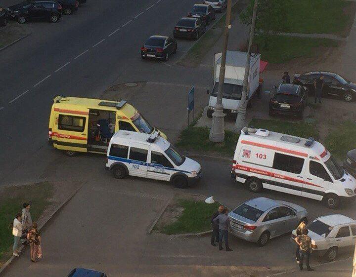 Подростки в Москве выпрыгнули с 14-го этажа / фото t.me/breakingmash