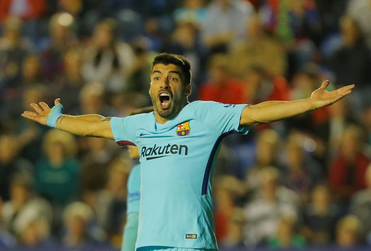 """""""Барселона"""" несподівано програла """"Леванте"""" з рахунком 4:5 / REUTERS"""