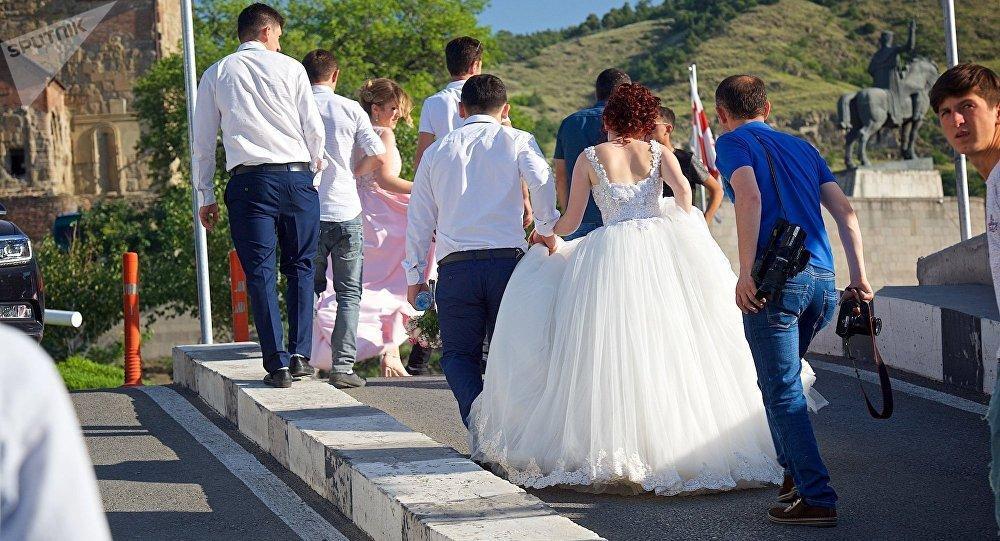 Второе всеобщее венчание пройдет в Грузии 17 мая / sputnik-georgia.ru
