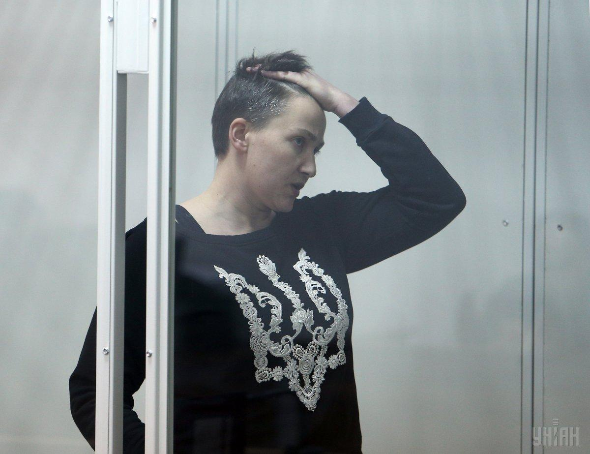 Савченко объявила о прекращении голодовки / фото УНИАН