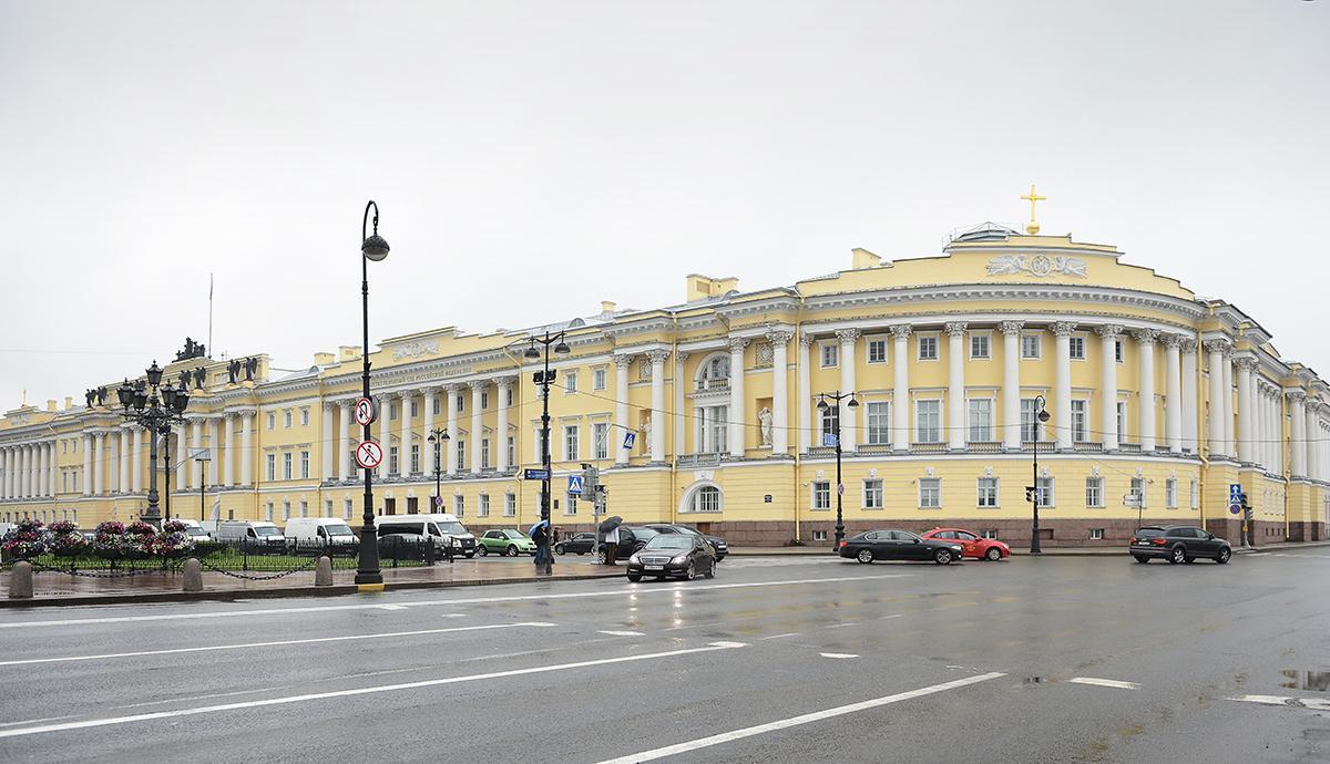 Історична будівля Урядуючого Синоду в Санкт-Петербурзі / patriarchia.ru