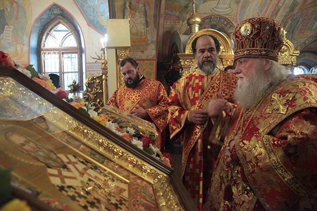 В Толгском монастыре отпраздновали 30-летие прославления свт. Игнатия / patriarchia.ru