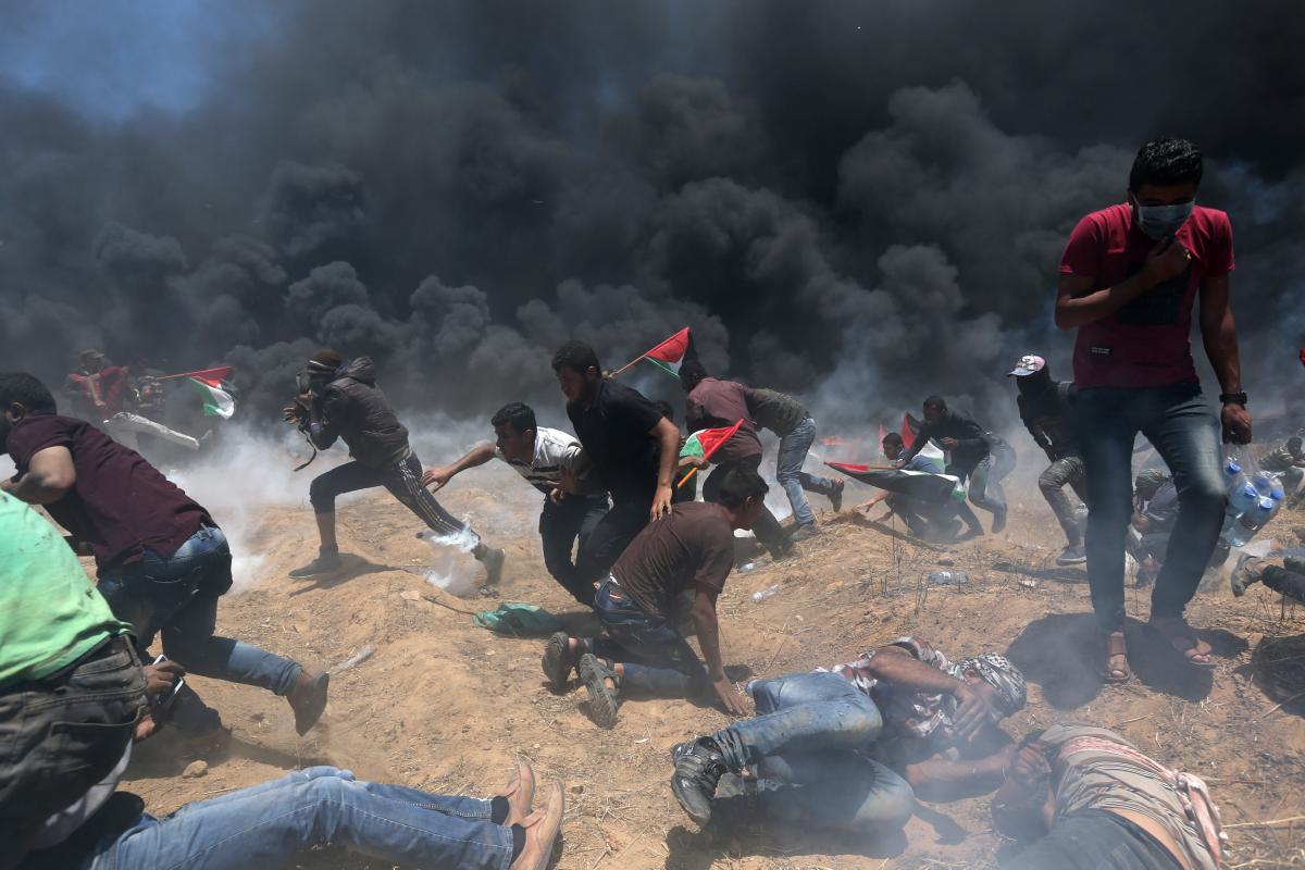 Зіткнення у Секторі Гази 14 травня / REUTERS