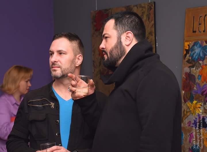 Валерій Петров (ліворуч) таАрмандо Шадон / facebook.com/Валерій Петров