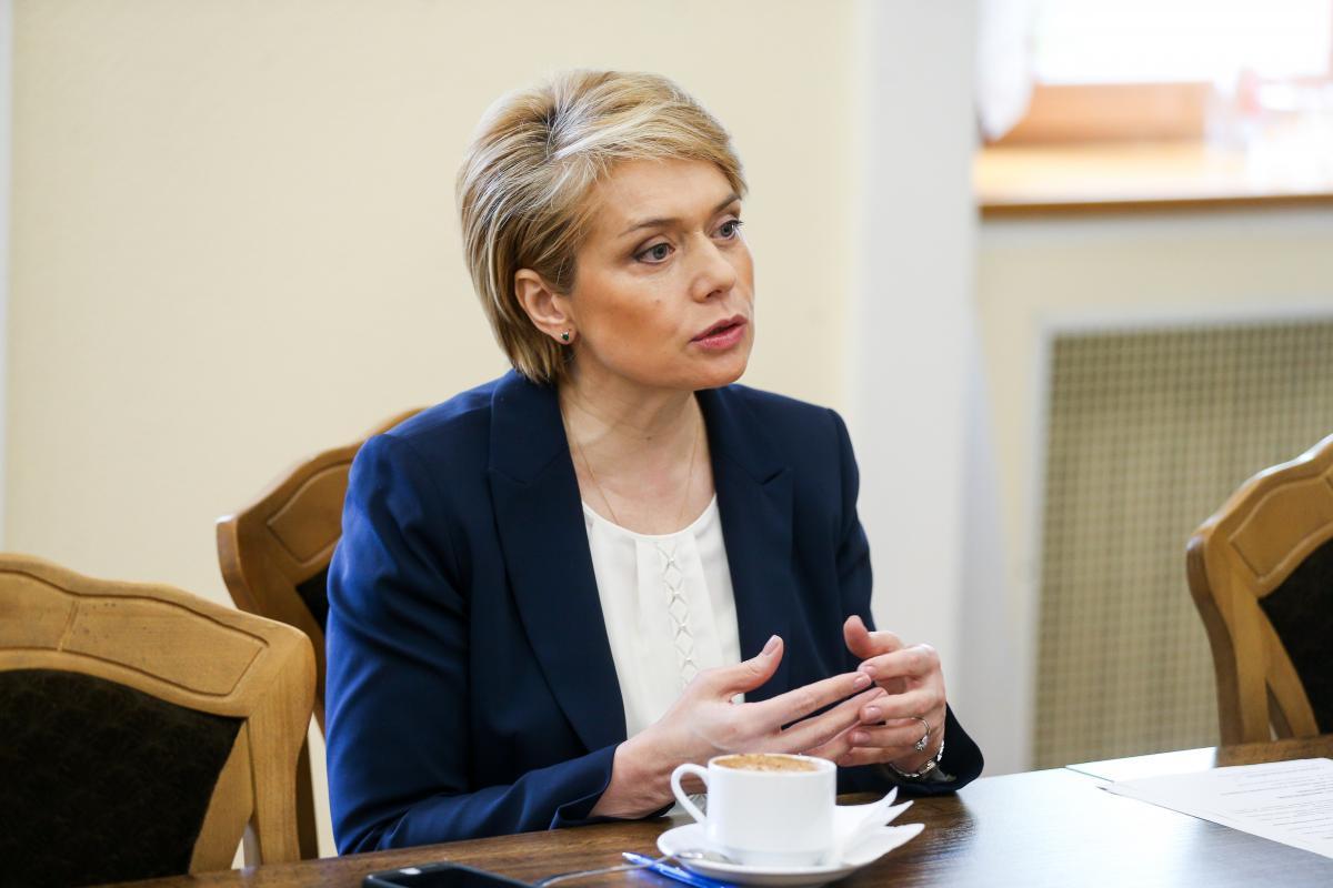 """Ми дуже відкриті до вирішення """"мовного питання"""", заявила Гриневич / фото УНІАН"""