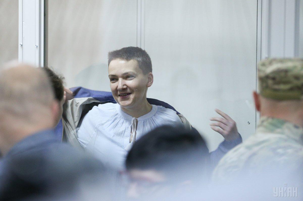 Суд не зміг прийняти рішення про продовження арешту Надії Савченко / фото УНІАН