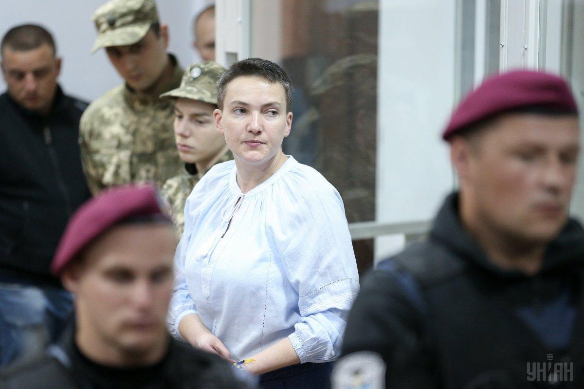 Савченко звинувачують у підготовці масштабного теракту проти керівництва країни / УНІАН
