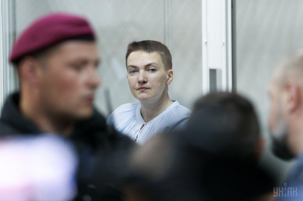 Адвокат рассказала о состоянии Савченко / фото УНИАН