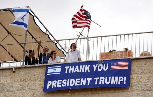 Израильтяне приветствуют решение Трампа о переносе посольства США в Иерусалим / korrespondent.net