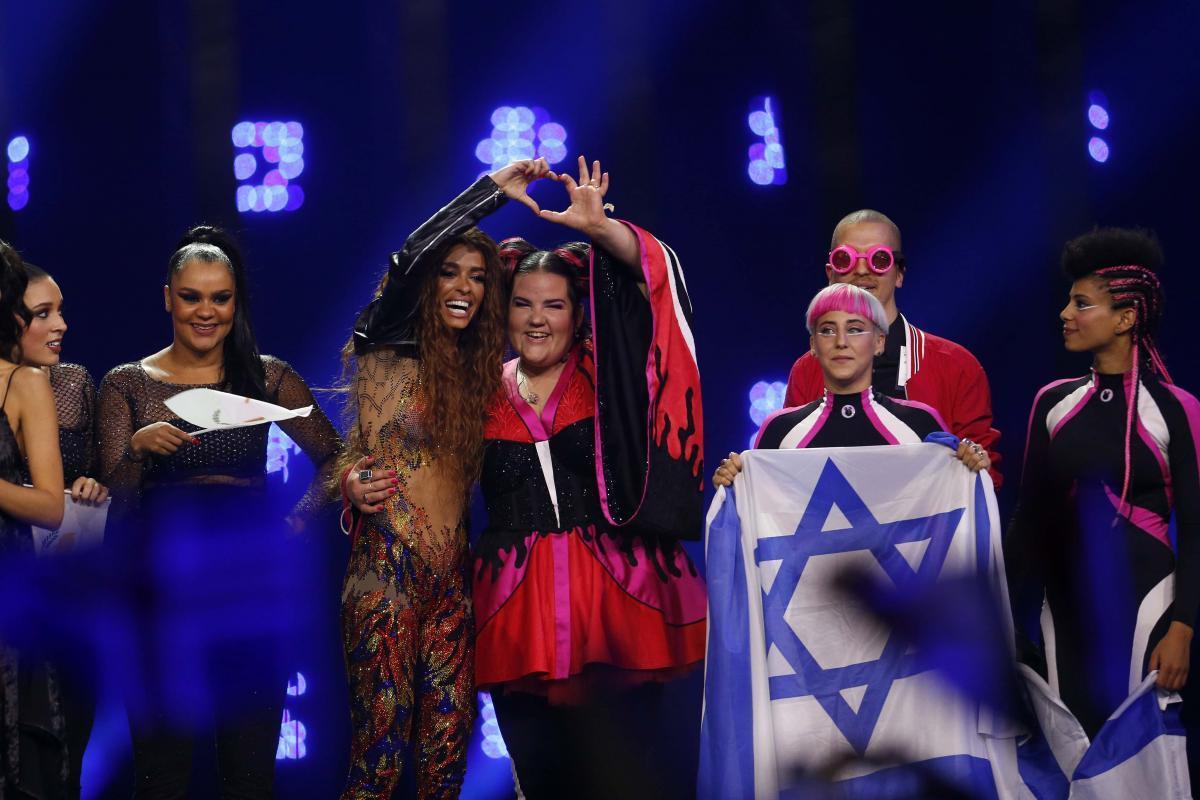 Победительница «Евровидения-2018» певица Нетта Барзилай / REUTERS