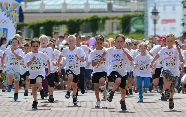 Свято олімпійського дня відбуватиметься на Оболонській набережній столиці / noc-ukr.org
