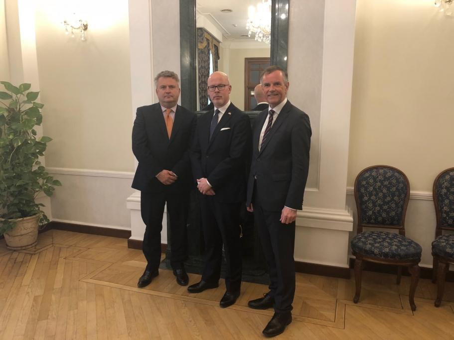 Норвегія залишається відданим партнером України, наголосив державний секретар МЗС Норвегії / фото mfa.gov.ua