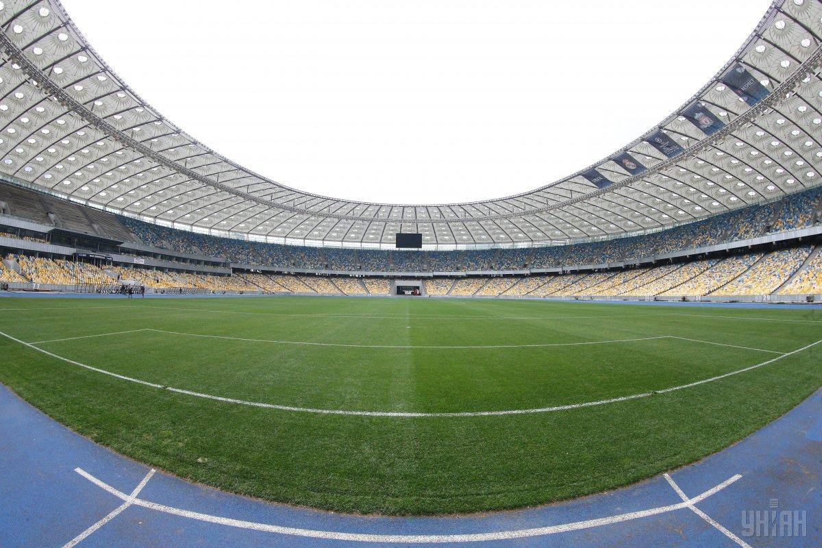 При строительстве НСК «Олимпийский» использовали сталь «Метинвеста» / фото УНИАН
