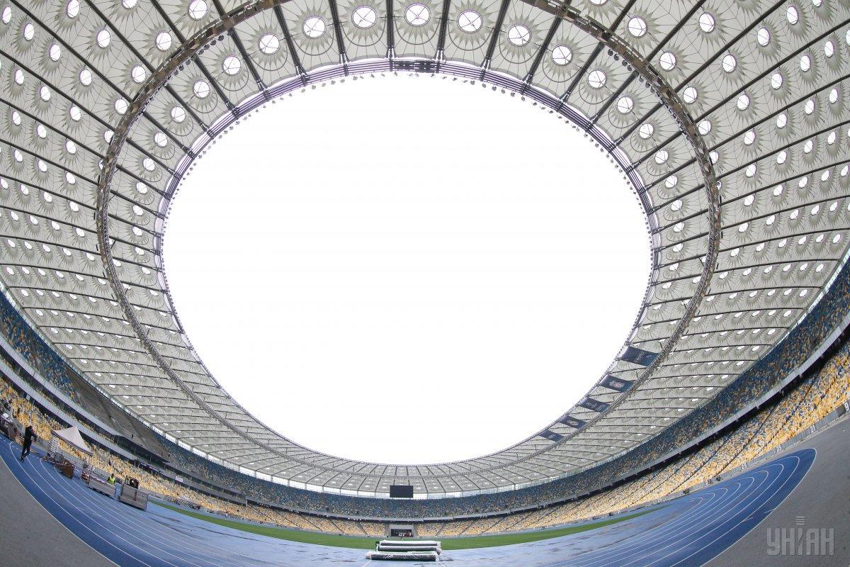 Kyiv's NSC Olimpiyskiy Stadium will host the debates / Photo from UNIAN