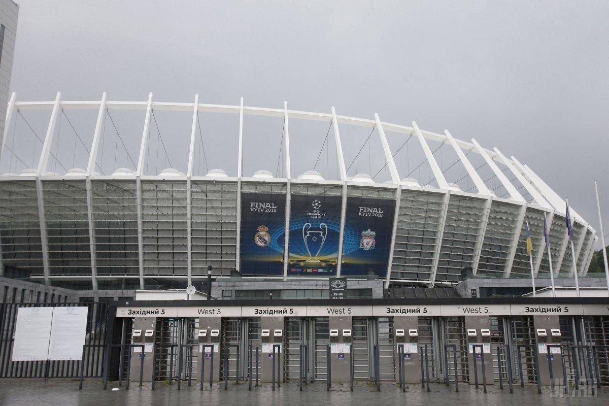 На Олімпійському пропадає світло перед фіналом ЛЧ / Reuters