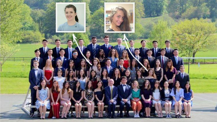 18-летние дочери президента УкраиныПетра Порошенко - закончили учебу вбританском колледже Concord / concordcollegeuk.com