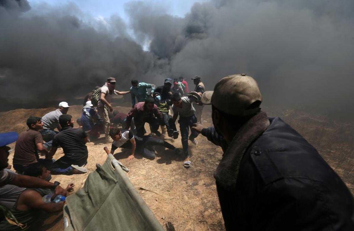 Столкновения в Секторе Газа / REUTERS