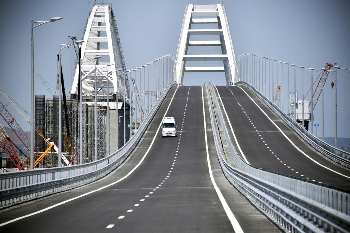 In 2018 Kerch Bridge to the Crimea will be erected 65