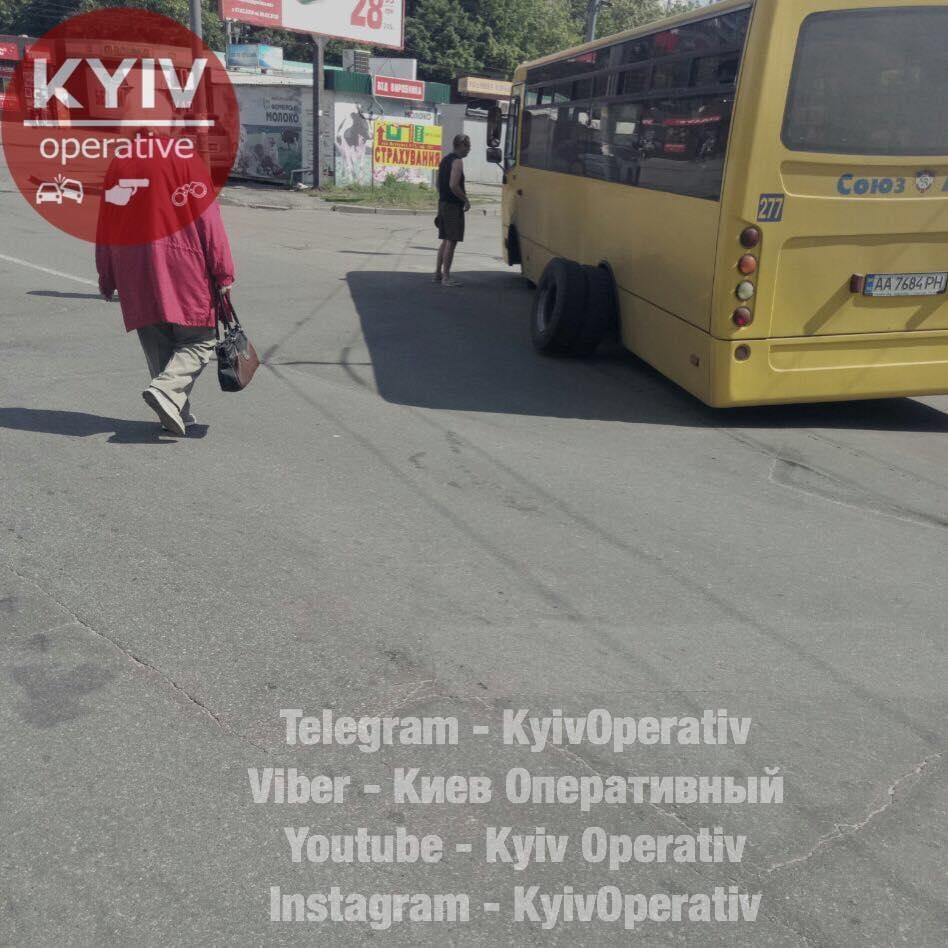 Это не первый курьезный случай с маршруткой / facebook.com/KyivOperativ