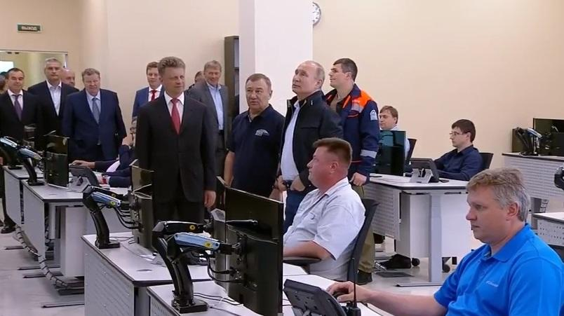 Путін приїхав в аннексированный Крим / Скріншот