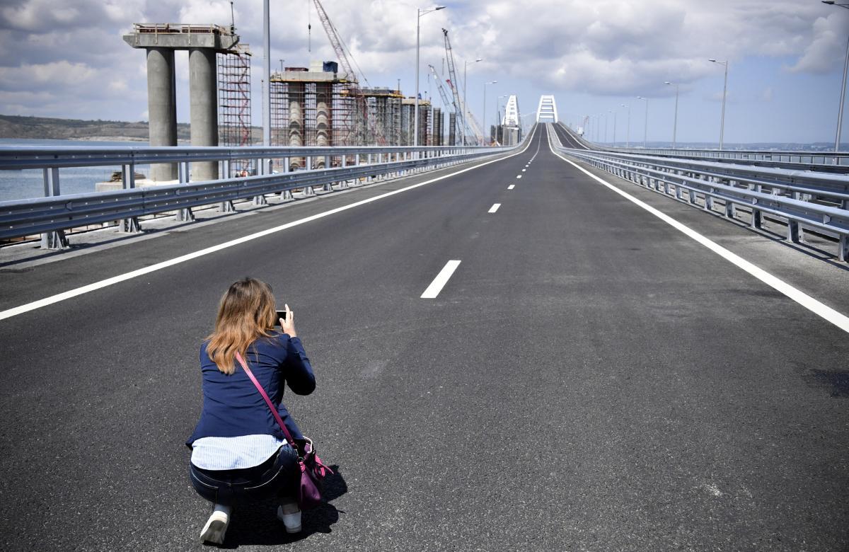 Крымский мост REUTERS
