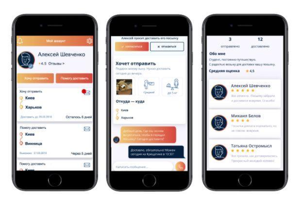 Скачать мобильное приложение TravelPost можно вAndroid и iOS/ фото TravelPost