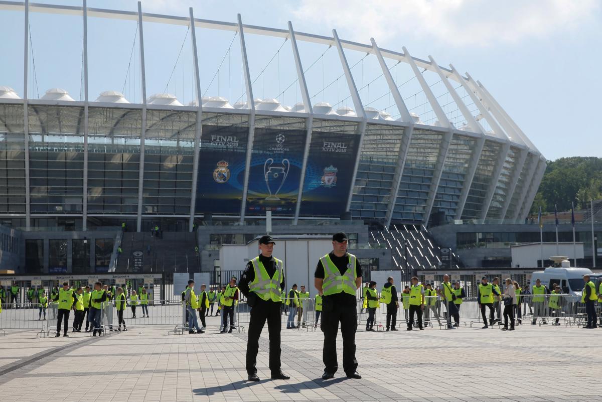 На финале Лиги чемпионов будут работать 3 800 правохранителей / REUTERS