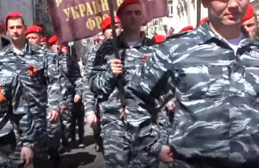 Рух «Безсмертний полк України» організував парад / скріншот