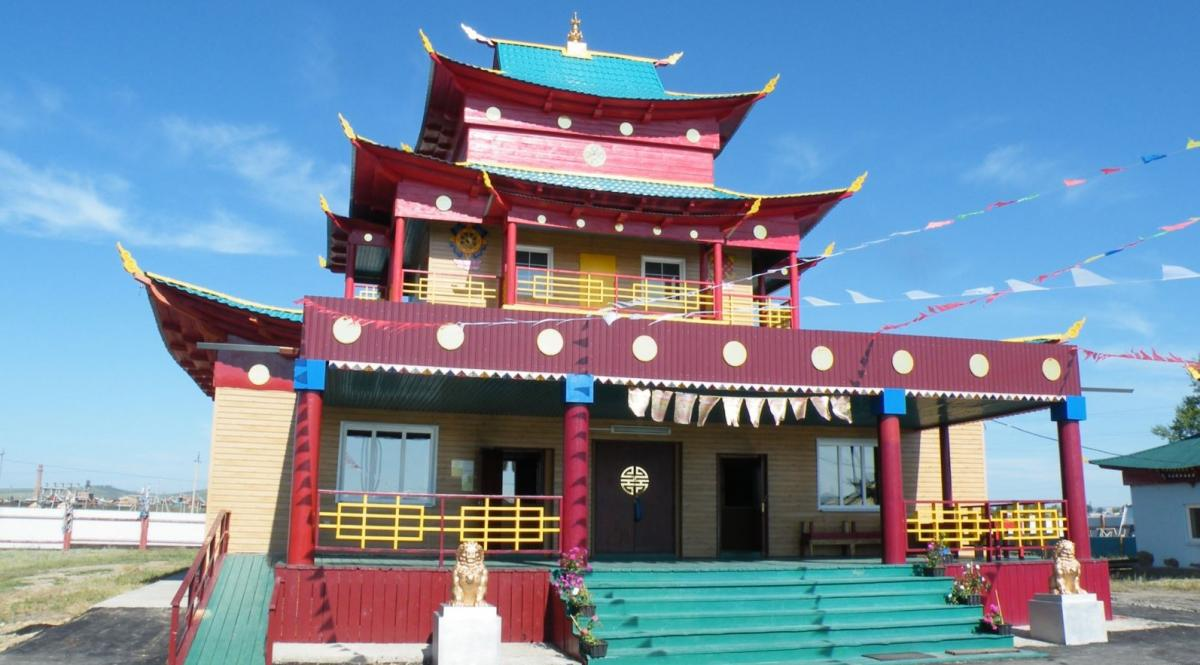 Храмовый комплекспостроен по благословению Далай-ламы ХIV / tayga.info