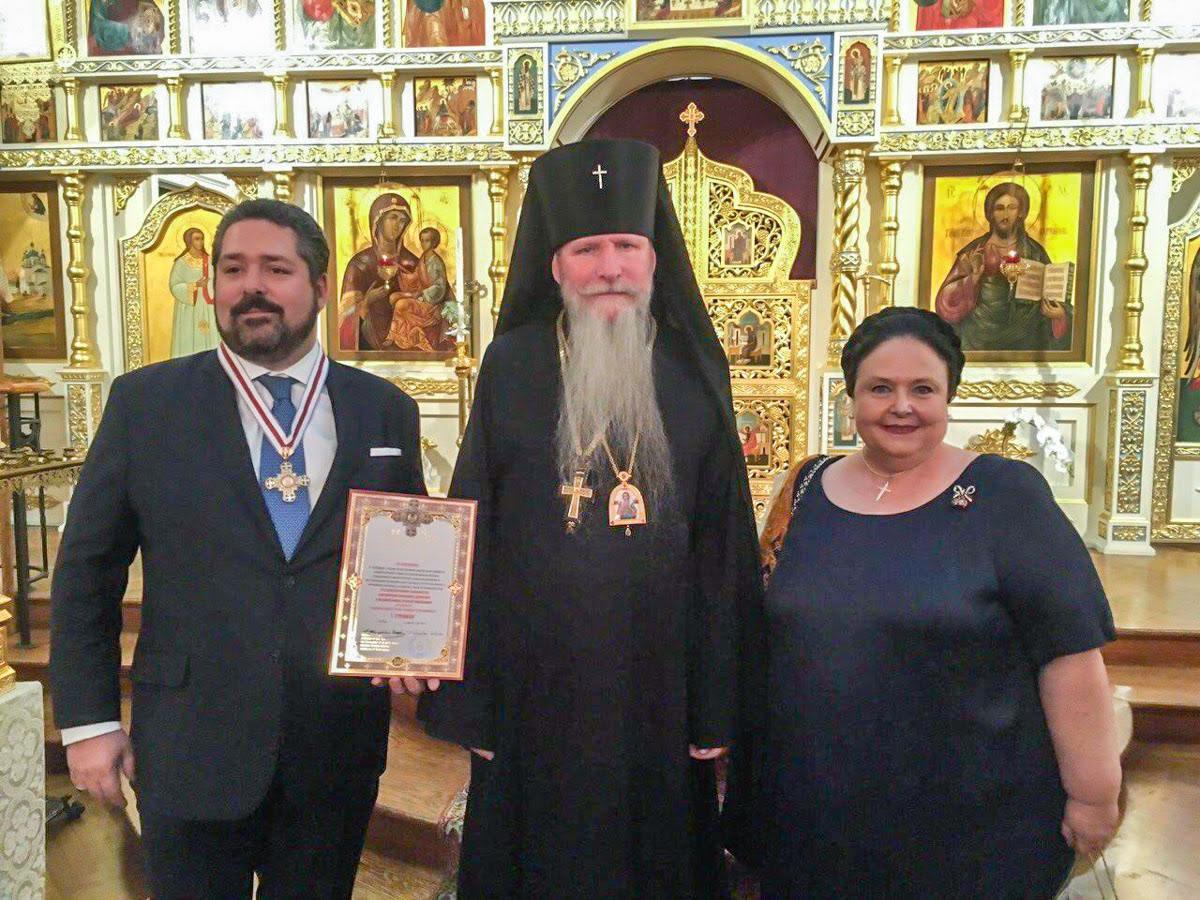 Князь Георгій Михайлович отримав церковну нагороду за внесок у вивчення онкологічних захворювань / synod.com