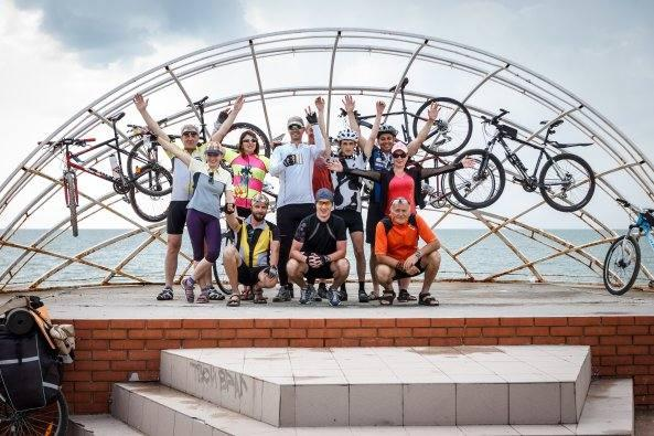 Цього року велопаломникам належить подолати відстань у понад 150 км / hramzp.ua