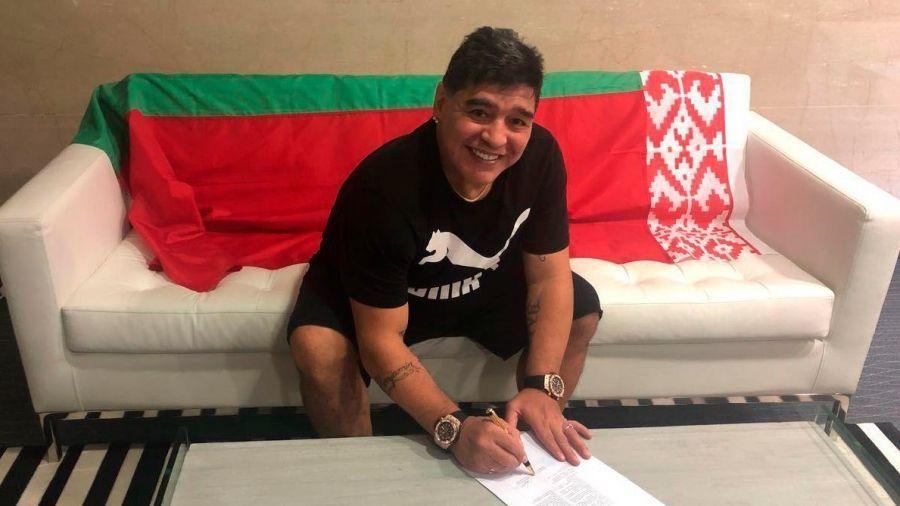Марадона очолив правління футбольного клубу «Динамо-Брест»