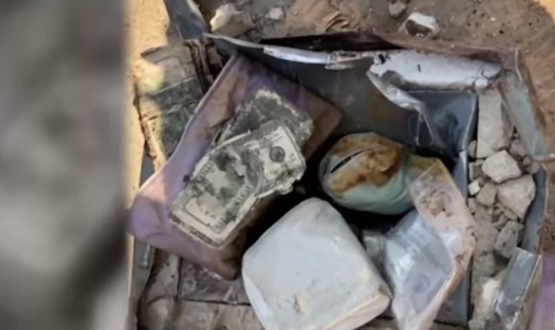 Найденный сейф принадлежал соседям / Скриншот видео ТСН
