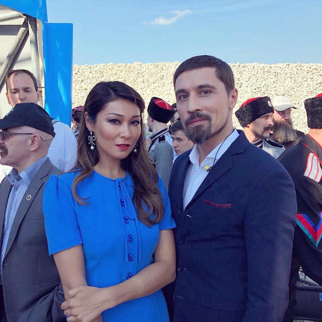Билан тоже был замечен среди российских звезд на Керченском мосту / фото women.ru