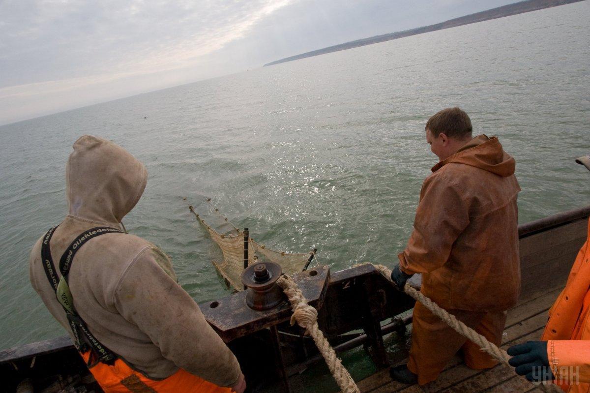 В Азовському морі виловлюється, орієнтовно, від 37 тисяч тонн / фото УНІАН