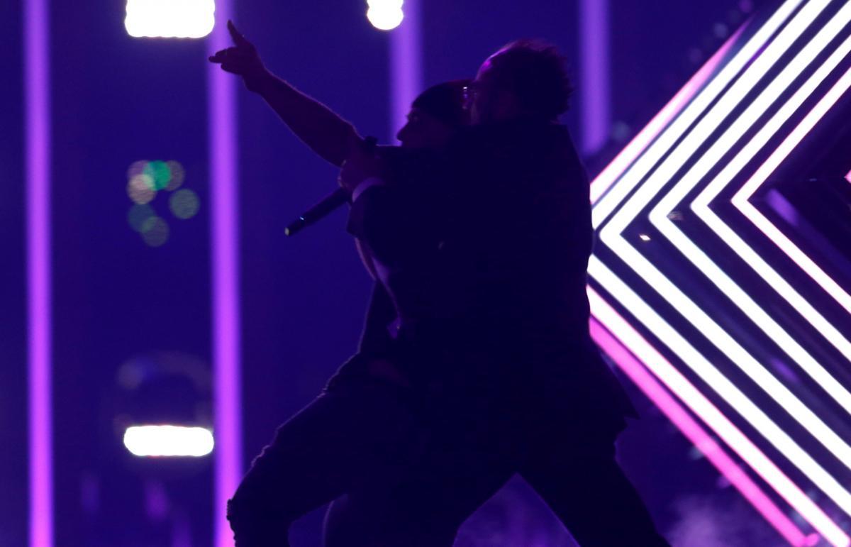 Инцидент в финале Евровидения / REUTERS