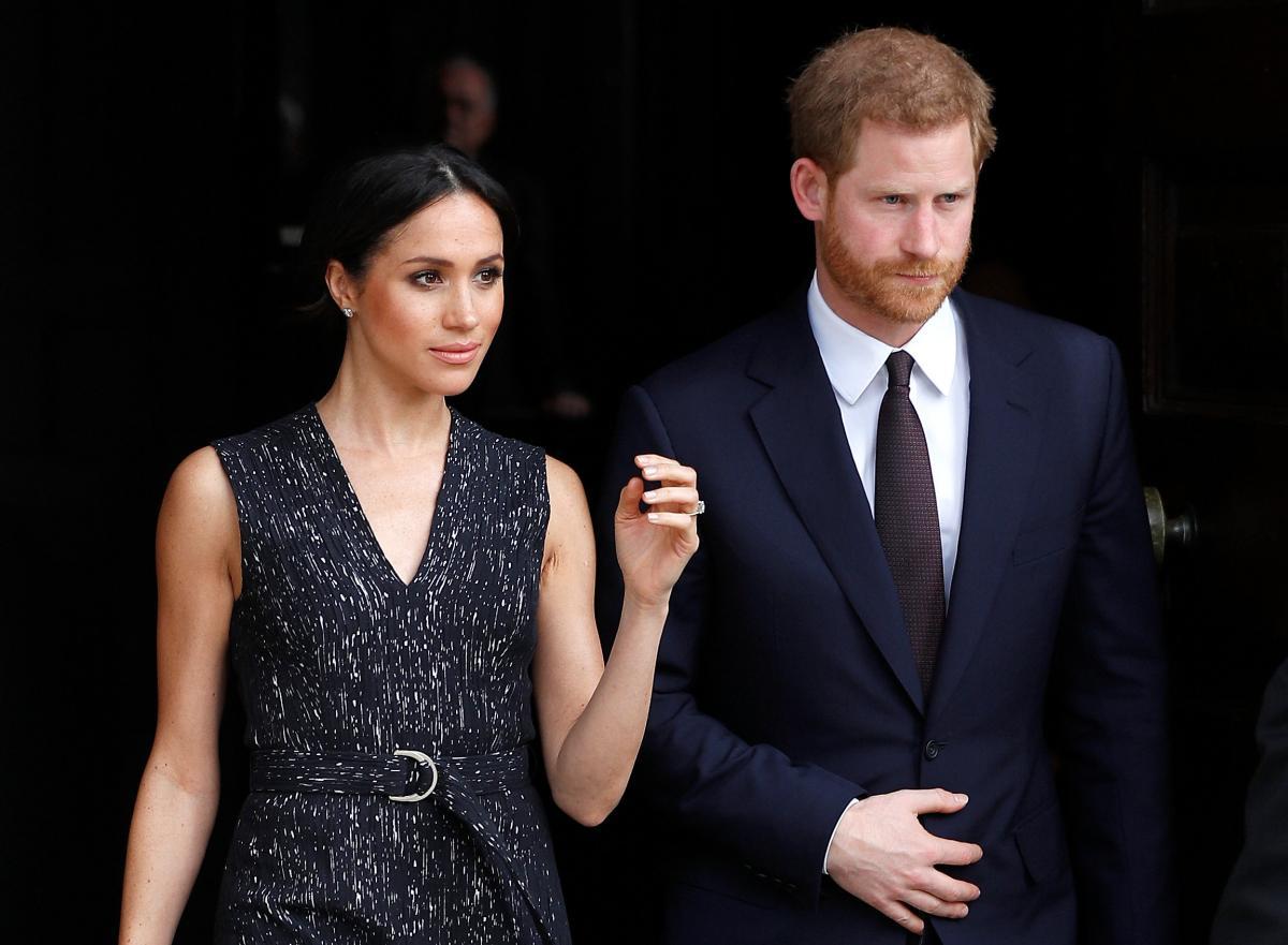 Меган Маркл і принц Гаррі / фото REUTERS