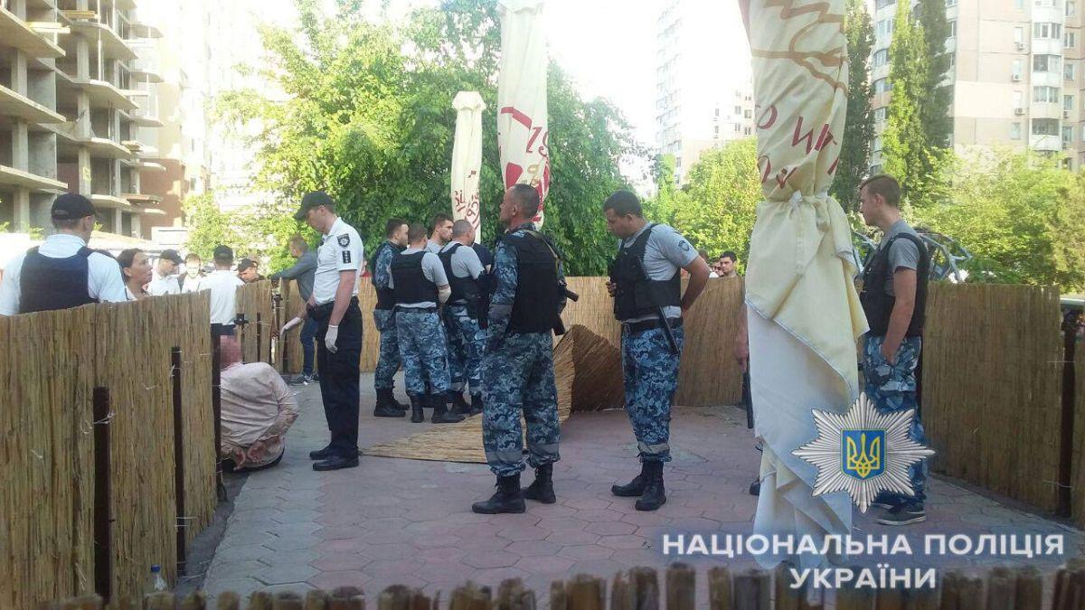 Задержаны несколько человек, никто не пострадал / фото facebook.com/gunp.odessa