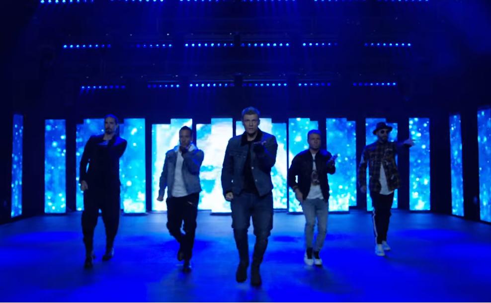 Кумиры 90-х Backstreet Boys выпустили новый клип после длительного перерыва