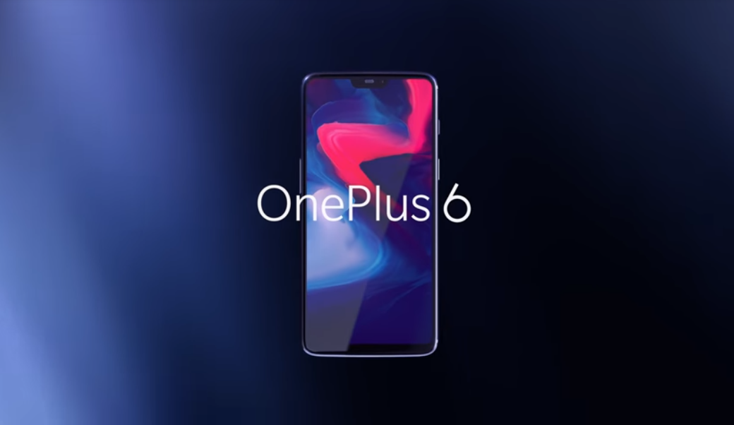 Флагман One Plus 6 представлен официально / скриншот