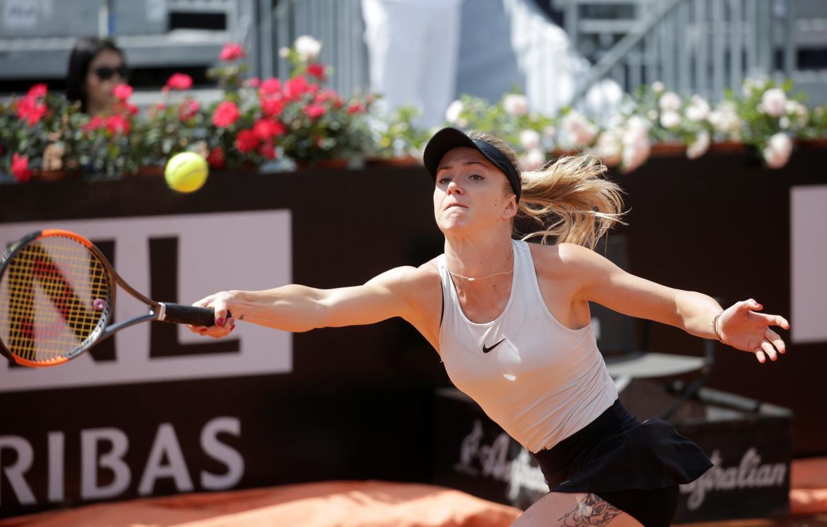 Свитолина дошла уже до четвертьфинала турнира в Риме / Reuters
